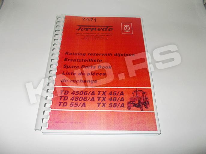KATALOG TORPEDO 45/48A/5506 SRB