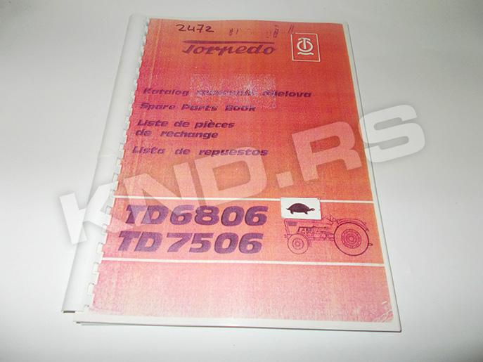 KATALOG TORPEDO 68/7506 SRB