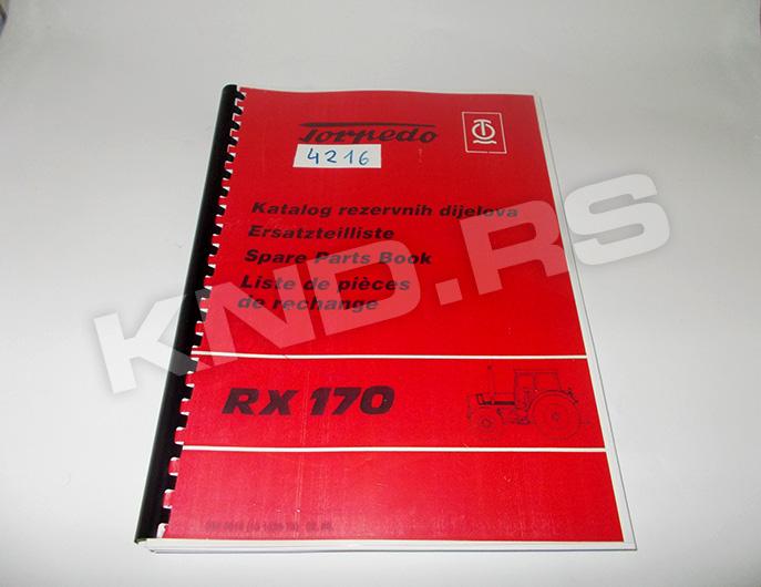 Katalog rezervnih delova Torpedo RX 170