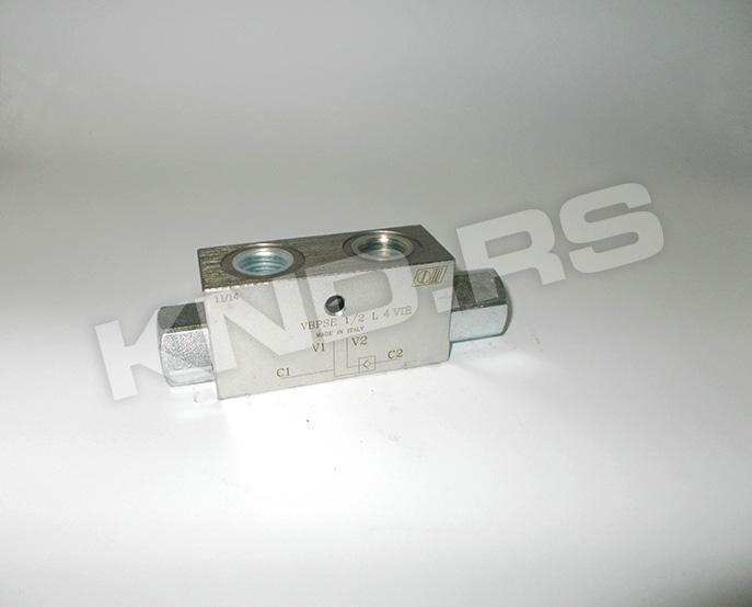 Single overcenter valve  VBCD ½ SE/A