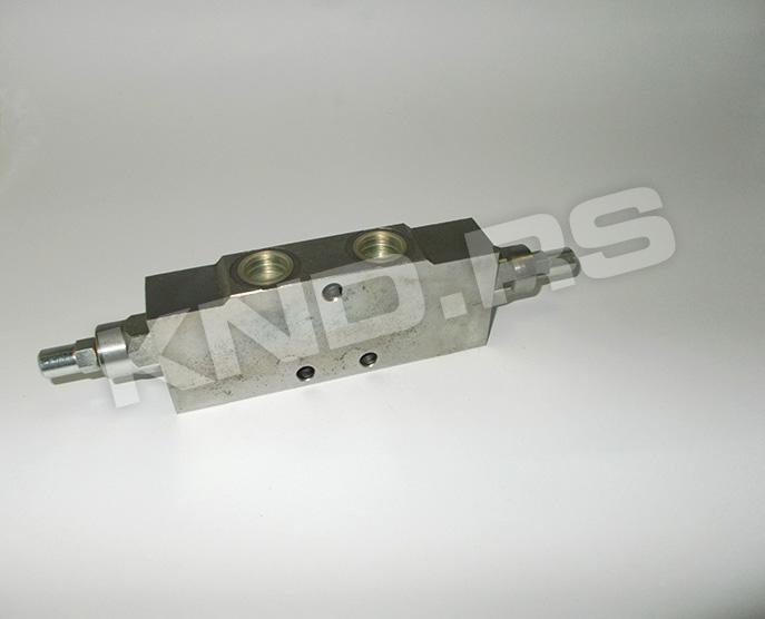 Double overcenter valve  VBCD ¾ DE