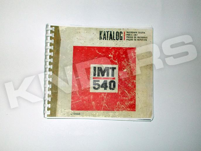 KATALOG IMT 540